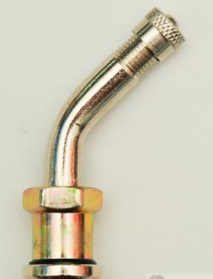 T/L Valve 55mm 44o Brass